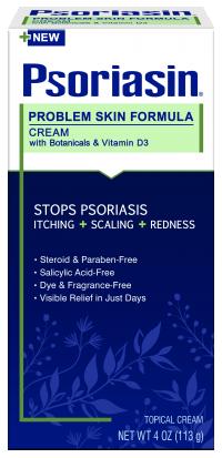 PSORIASIN Problem Skin Formula Cream - SAVE $2.00
